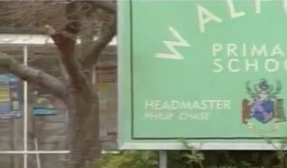 Walford Primary School Sign (2000)