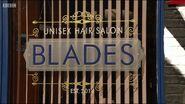 Blades Window Sign (2015)