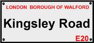 Kingsley Road, Walford
