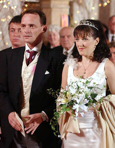 Billy Mitchell and Little Mo Slater Wedding (25 December 2002)