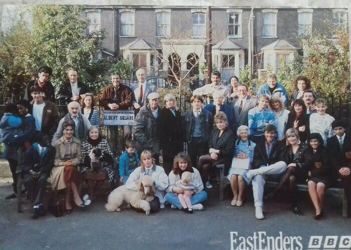 EastEnders Cast Colour (1988)