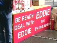 Eddie (The Extinguisher) Sign (Return of Nick Cotton)