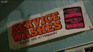 Launderette Service Wash Sign