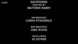 Abi Branning Death End Credits (19 January 2018)