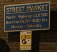 Bridge Street Market Sign