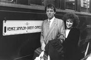 Den Watts and Angie Watts Visit Venice (1986)