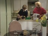 Walford Towers Pete and Kathy and Ian Beale Flat 4 (2 April 1985)