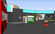 Easties sketchup model geo st from bus stop