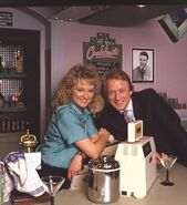 Kathy Beale and James Willmott-Brown