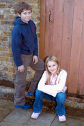Peter Beale and Lucy Beale (James Martin and Melissa Suffield)