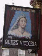The Queen Victoria Sign