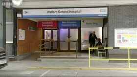 Walford General Hospital outside