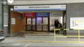 Walford General Hospital outside