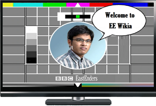 EastEnders on TV