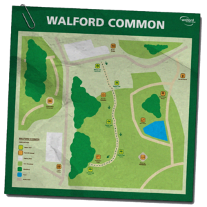Walford Common Map