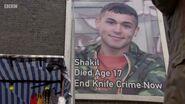 Shaki Kazemi Knife Crime Poster (25 October 2018)