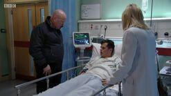 Ben Mitchell in Hospital (4 December 2017)
