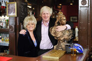 Peggy Mitchell and Boris Johnson (2009)