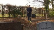 Ronnie and Roxy Grave without headstone (16 February 2017)