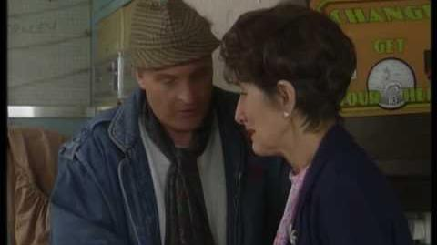 Burglary at the Laundrette Mr Papadopulous visits - EastEnders - BBC
