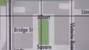 EastEnders A-Z DVD Map Albert Square Location 2 (2005)