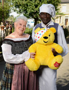 Laila Morse and Rudolph Walker (Children in Need 2018)