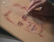 Colin's wistful portrait of Barry (14 January 1988)