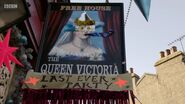 Queen Vic Sign (29 December 2017)