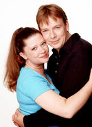 Laura and Ian Beale