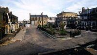 Albert Square being built