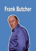 Frank Butcher Name Card