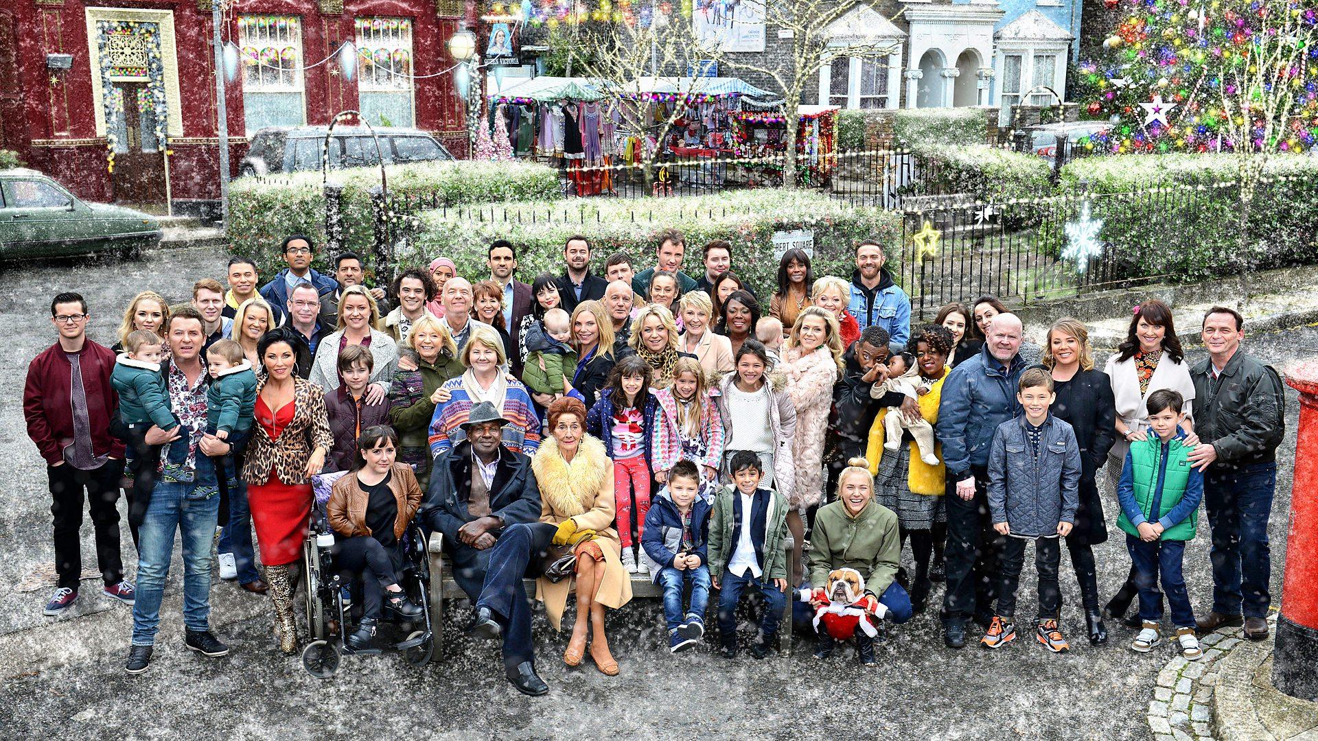 Image - EastEnders Cast (Christmas 2015).jpg   EastEnders Wiki ...