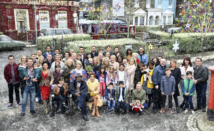 EastEnders Cast (Christmas 2015)
