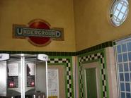 Walford East Tube Station Underground