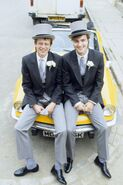 Lofty Holloway and Simon Wicks (24 September 1987)