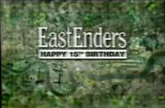 EastEnders Happy 15th Birthday Title Card (2000)