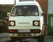 Mags Czajkowski's 1984 Honda Acty van A294GLW (31 March 1988)