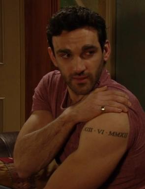 Kush's tatoo