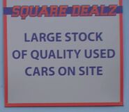 Square Dealz Sign (6 March 2020)