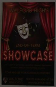 Walford High End of Term Showcase Poster (4 July 2017)