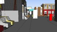 Easties sketchup model alb sq from vic road