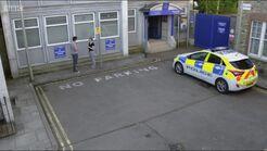 Walford Police Station Overhead shot (2015)