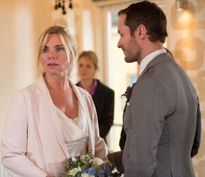 Ronnie Mitchell and Charlie Cotton Wedding (1 January 2015)