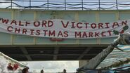 Walford Victorian Christmas Market Banner (2015)