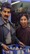 The Karim couple 1988