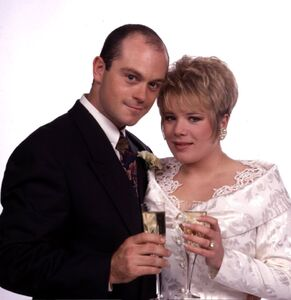 Grant Mitchell and Sharon Watts Wedding (26 December 1991)
