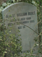 Albert Beale Gravestone (21 July 1988)
