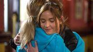 Lauren & abi branning hug