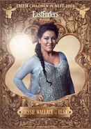 Jessie Wallace as Elsa (Children in Need 2018)