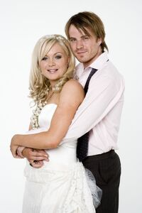 Roxy Mitchell and Shaun Slater Wedding (1 August 2008)